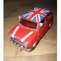 Blikken Auto Mini Cooper Union Jack
