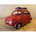 Blikken auto Fiat 500 Rugzak