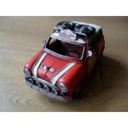 Auto Van Blik Mini Cooper Rally