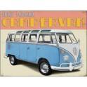 Metalen wandbord VW retro Camper