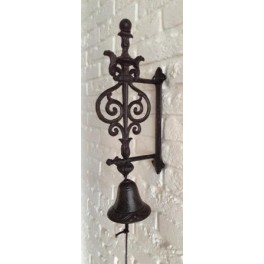 Gietijzeren Bel Rustiek Ornament
